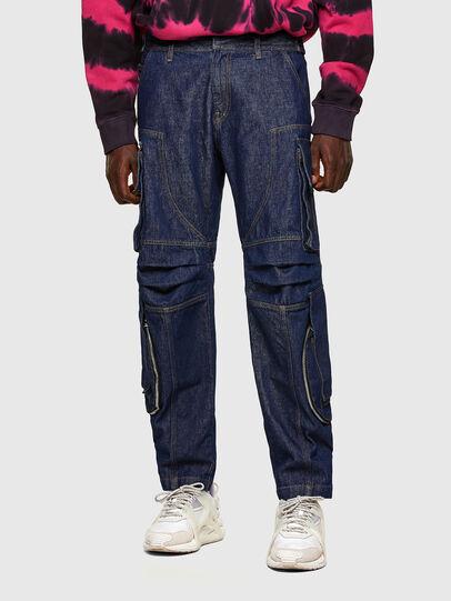 Diesel - D-KARGO, Medium blue - Pants - Image 1