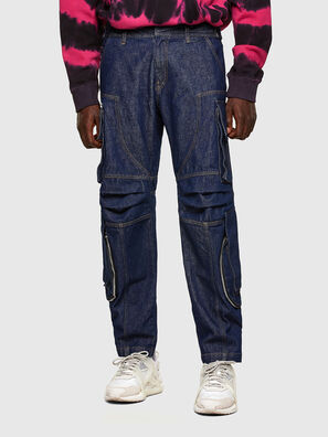 D-KARGO, Medium blue - Pants