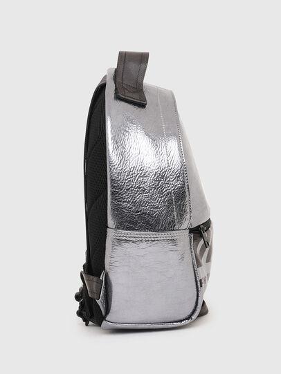 Diesel - F-BOLD BACK FL II, Silver - Backpacks - Image 3