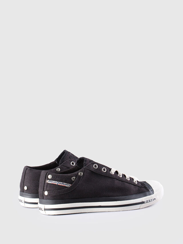 Diesel EXPOSURE LOW W, Black - Sneakers - Image 3