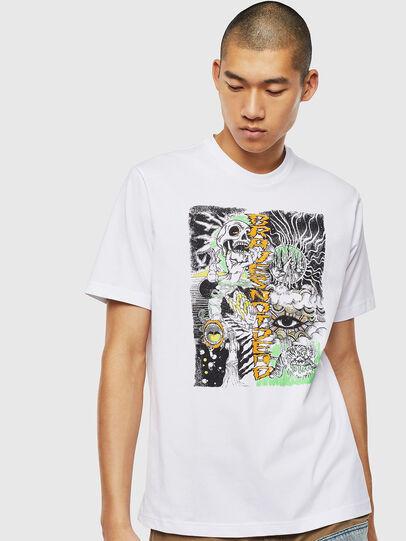 Diesel - T-JUST-J13, White - T-Shirts - Image 1