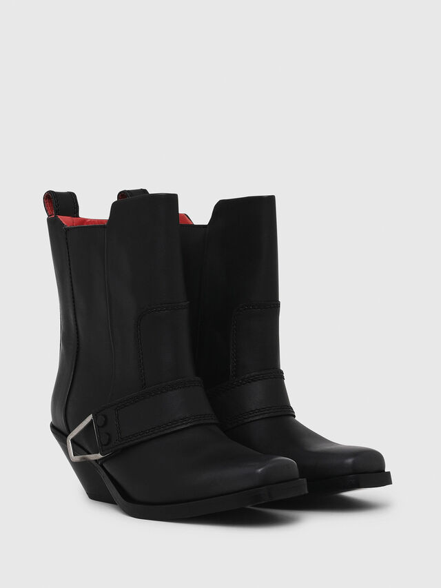 Diesel - D-GIUDECCA MA, Black - Ankle Boots - Image 2