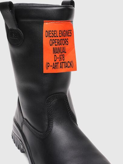 Diesel - H-WOODKUT CH, Black - Boots - Image 5