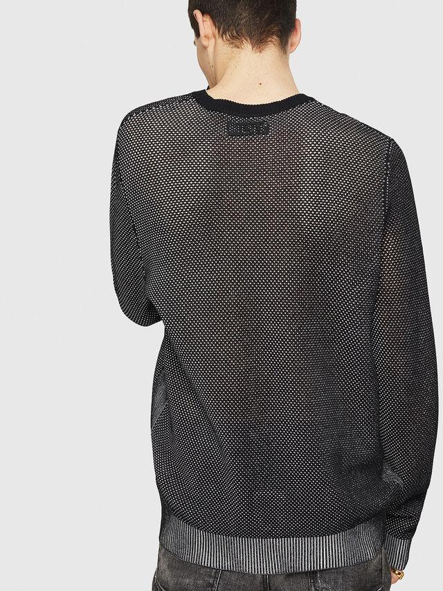 Diesel - K-NEST, Black - Knitwear - Image 2