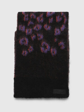 K-TERRY, Black/Violet - Scarf