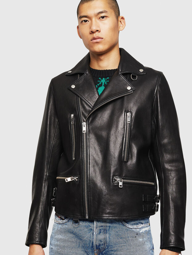 L-GOTIV, Black - Leather jackets