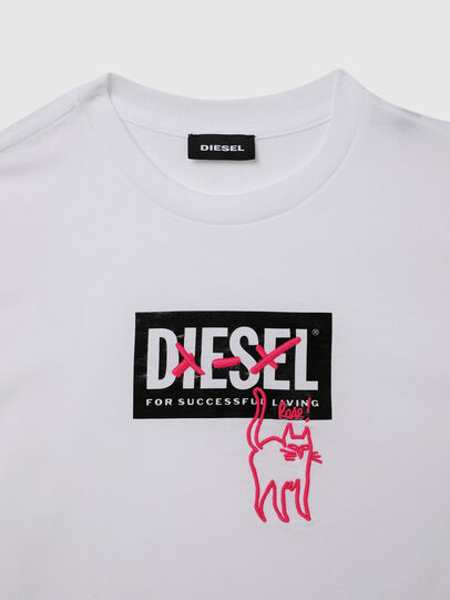 Diesel - TUDARICAT, White - T-shirts and Tops - Image 3
