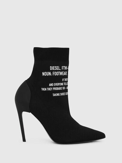 Diesel - D-SLANTY HAB, Black - Ankle Boots - Image 1