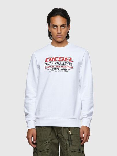 Diesel - S-GIRK-K21, White - Sweaters - Image 1