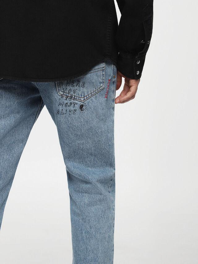 Diesel - D-PLANET, Black Jeans - Denim Shirts - Image 3