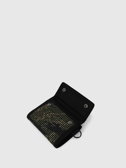 Diesel - YOSHI, Black/Green - Small Wallets - Image 5
