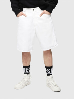 D-WILLOH, White - Shorts