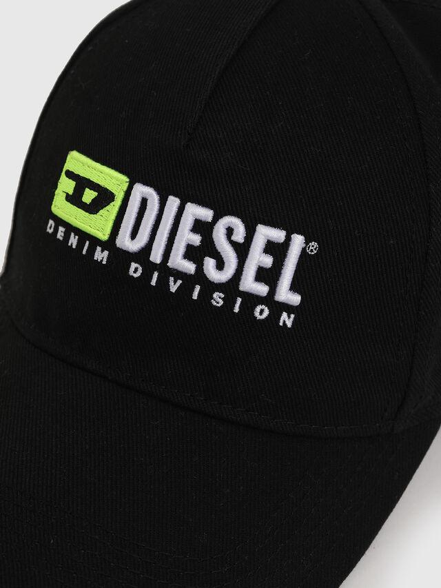 Diesel - DXF-CAP, Black - Caps - Image 3