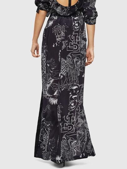 Diesel - O-MOYA-A, Black - Skirts - Image 2