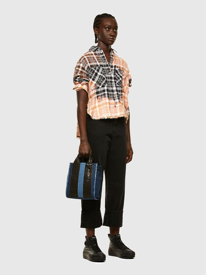 Diesel - GAYA, Blue Jeans - Crossbody Bags - Image 7
