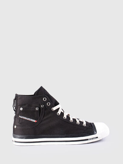 Diesel - EXPOSURE, Black - Sneakers - Image 1