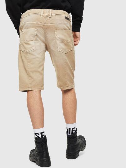 Diesel - D-KROOSHORT JOGGJEANS, Light Brown - Shorts - Image 2