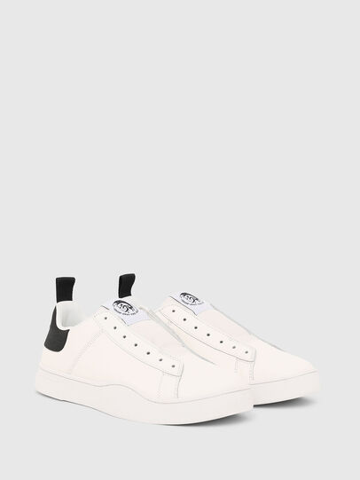 Diesel - S-CLEVER SO, White/Black - Sneakers - Image 2