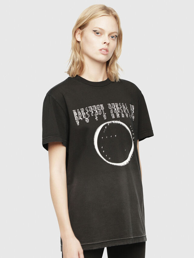 Diesel - SE-DIEGO, Black - T-Shirts - Image 2