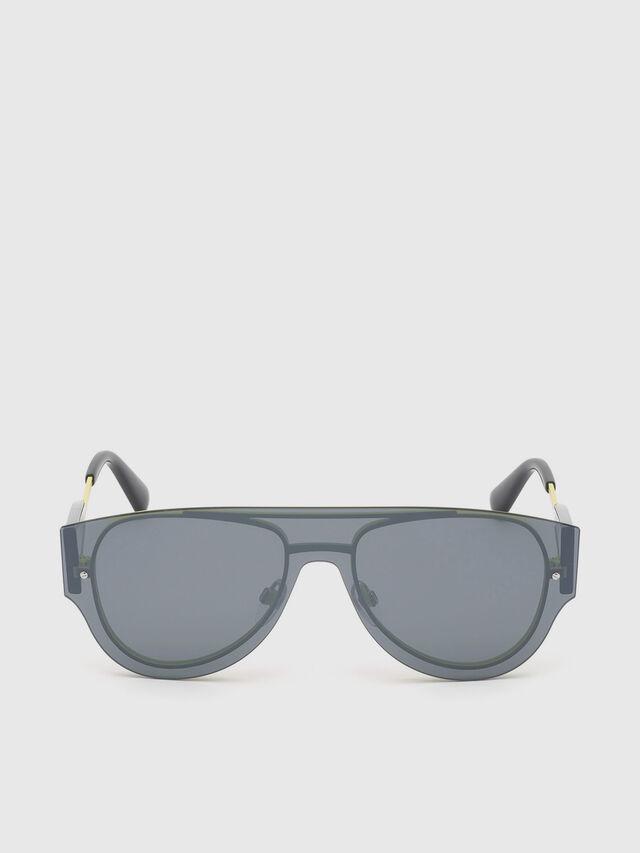Diesel - DL0273, Black/Yellow - Sunglasses - Image 1