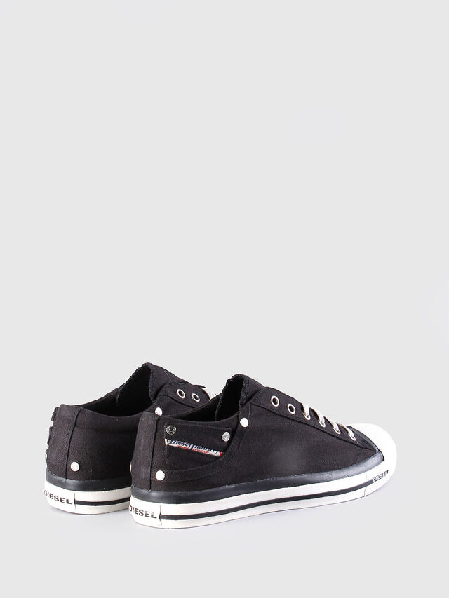 Diesel EXPOSURE LOW, Black - Sneakers - Image 3