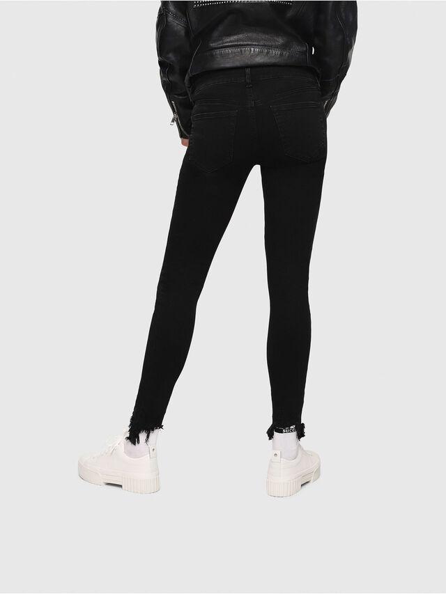 Diesel - Slandy 085AV, Black/Dark grey - Jeans - Image 2
