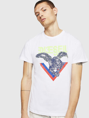 T-DIEGO-A4, White - T-Shirts