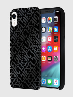 DIESEL PRINTED CO-MOLD CASE FOR IPHONE XR, Black - Cases