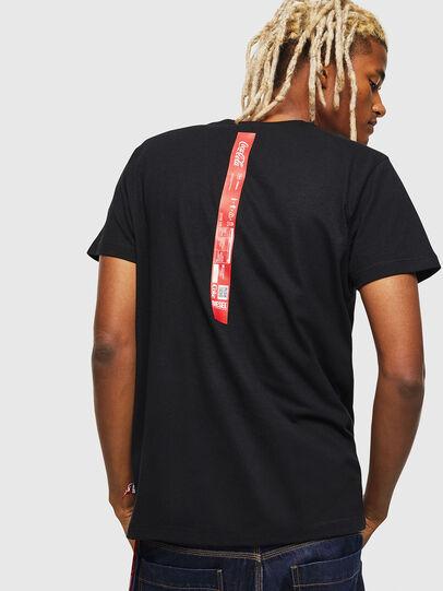 Diesel - CC-T-DIEGO-COLA, Black - T-Shirts - Image 2
