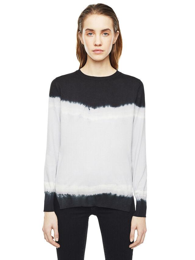 Diesel - MYED, White/Black - Knitwear - Image 1