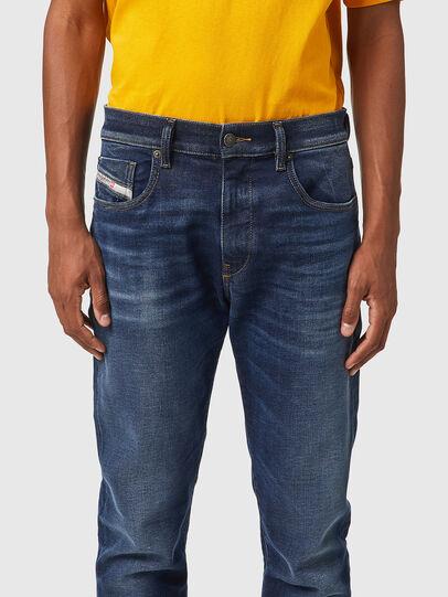 Diesel - D-Strukt JoggJeans® 069XG, Dark Blue - Jeans - Image 3