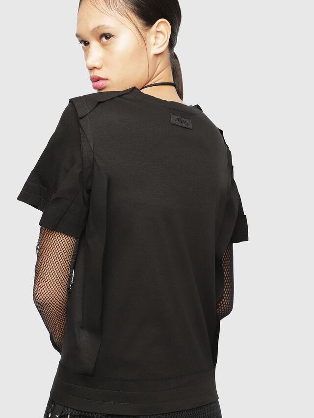 Diesel - T-ROCK, Black - T-Shirts - Image 2