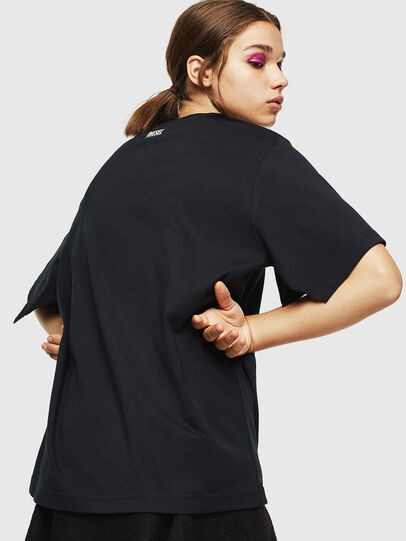 Diesel - T-JUSTINA, Black - T-Shirts - Image 2