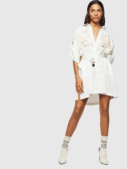 Diesel - D-TIEP, White - Dresses - Image 6