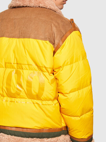 Diesel - W-EVAN-A, Yellow - Winter Jackets - Image 4