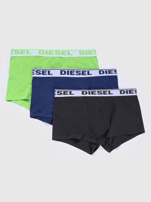 Diesel - UMBX-SHAWNTHREE-PACK, Black/Green - Trunks - Image 1