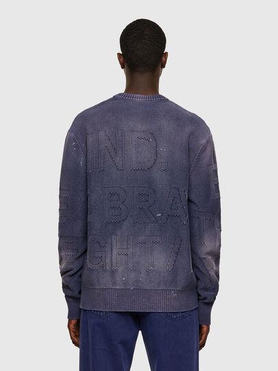 Diesel - K-NORTHERN, Blue - Knitwear - Image 2