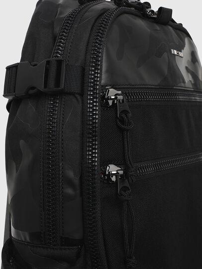 Diesel - F- URBHANITY BACK, Blue/Black - Backpacks - Image 3