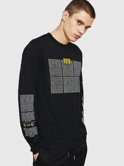 Diesel - T-JUST-LS-NEW, Black - T-Shirts - Image 6