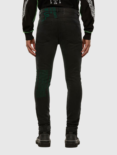 Diesel - D-Reeft JoggJeans 009HD, Black/Dark grey - Jeans - Image 2