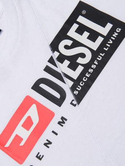 Diesel - TDIEGOCUTY, White - T-shirts and Tops - Image 3