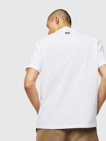 Diesel - T-JUST-J13, White - T-Shirts - Image 2