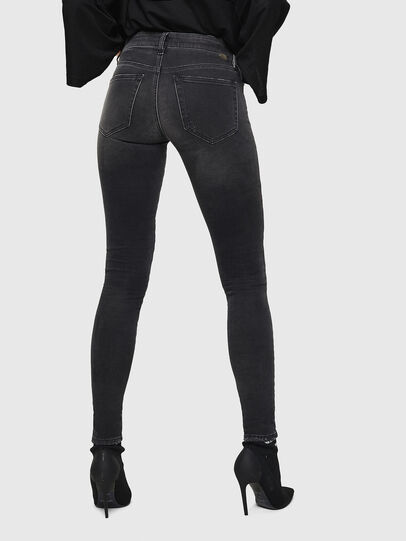 Diesel - Slandy 069GI, Black/Dark grey - Jeans - Image 2