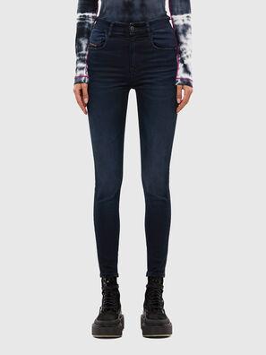 Slandy High 009JG, Dark Blue - Jeans
