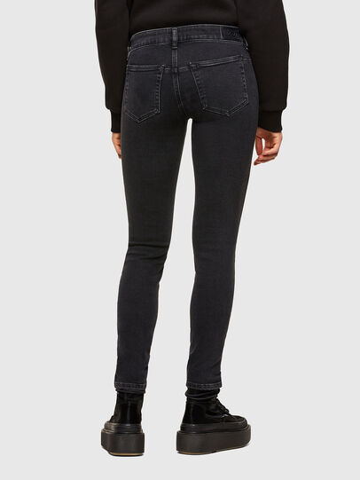 Diesel - D-Jevel 0870G, Black/Dark grey - Jeans - Image 2