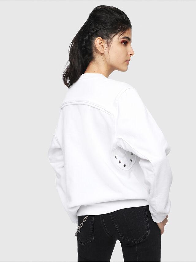 Diesel - F-LYANY-B, White - Sweaters - Image 2