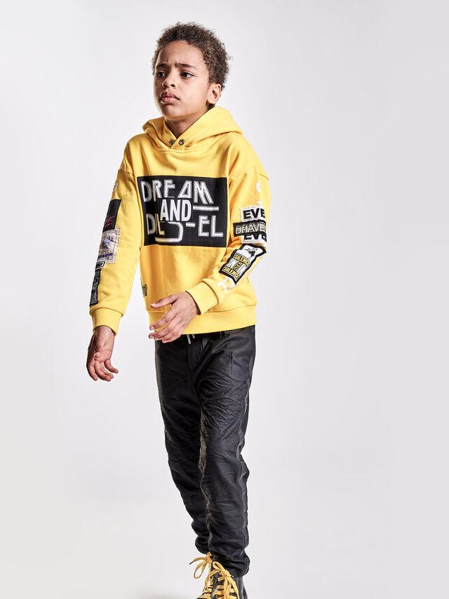 Diesel - SJACKWA OVER, Yellow - Sweaters - Image 4