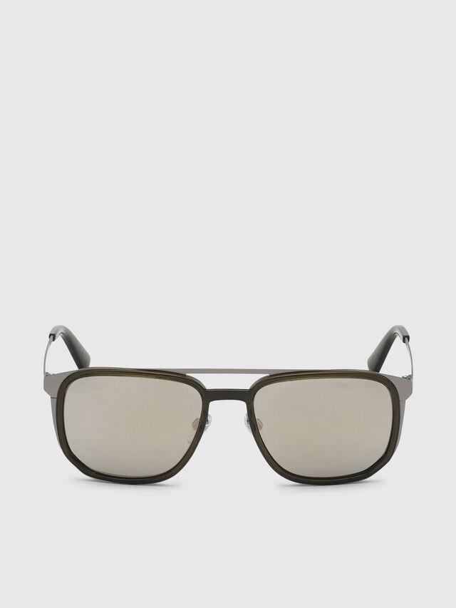 Diesel - DL0294, Olive Green - Sunglasses - Image 1