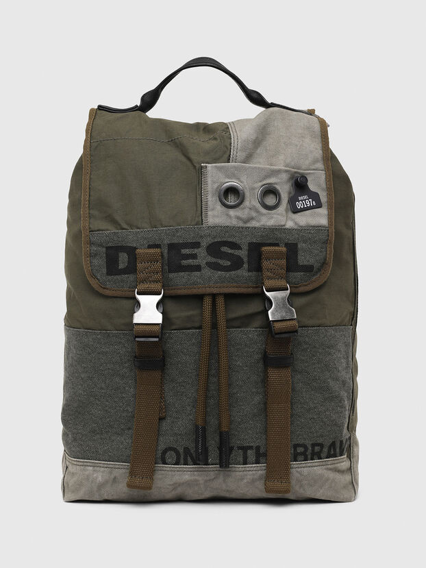 VOLPAGO BACK ARMY, Olive Green - Backpacks
