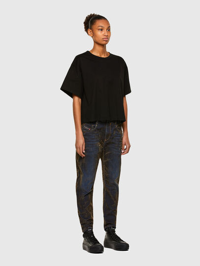 Diesel - Fayza 069RQ, Blue/Yellow - Jeans - Image 6